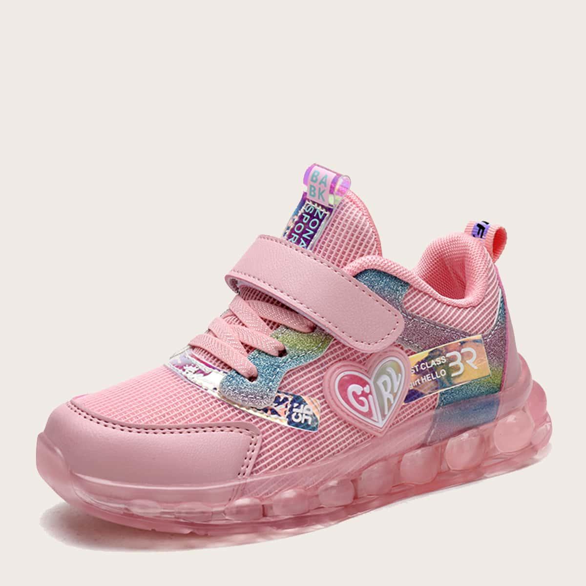 Сетчатые кроссовки для девочек от SHEIN