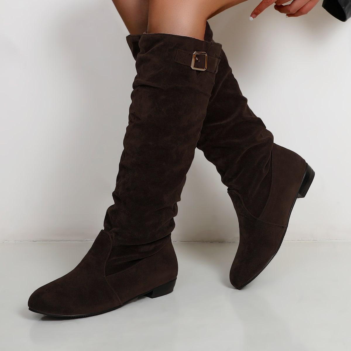 SHEIN Slip on schoenen Modieus Vlak Laarzen