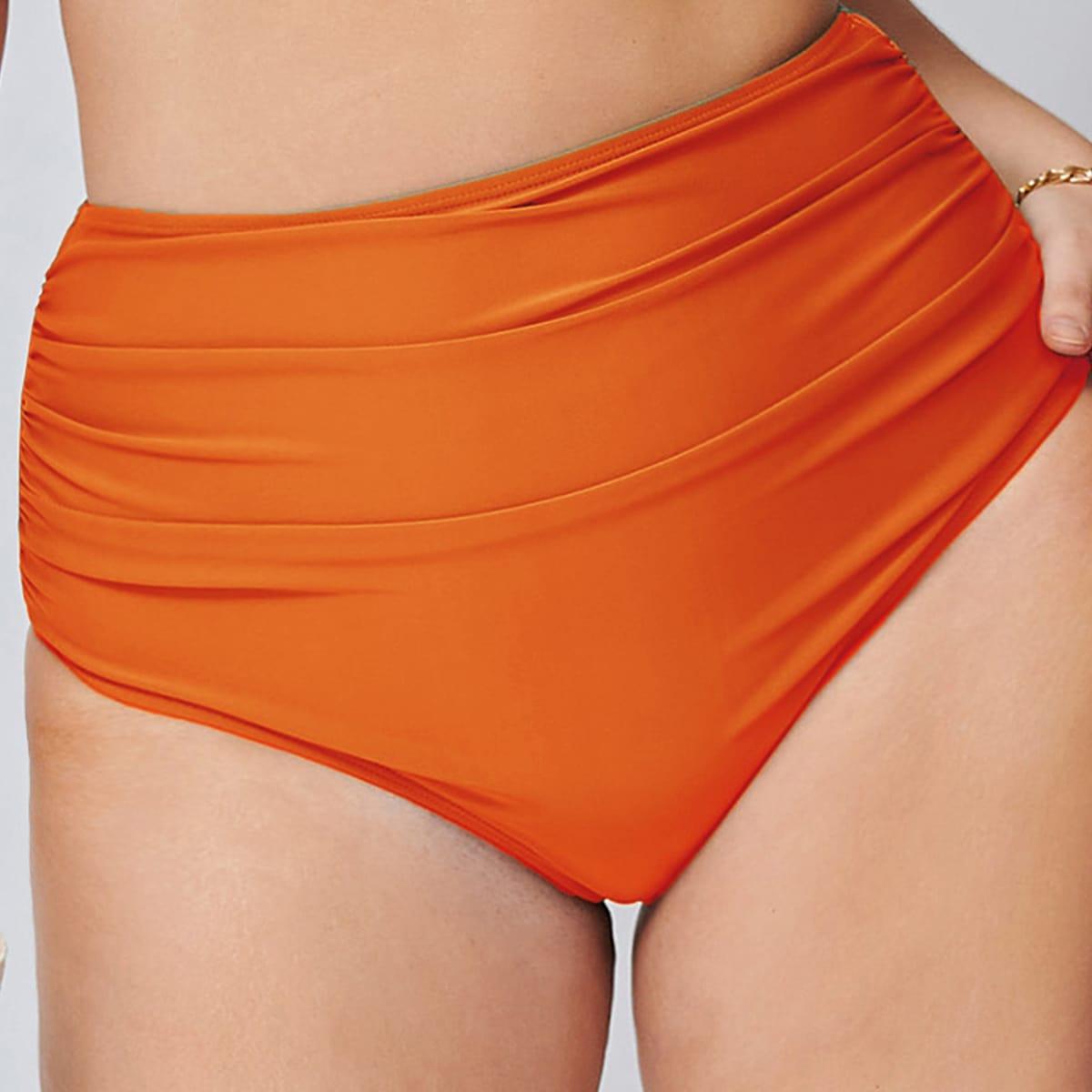 Plus Ruched Bikini Panty