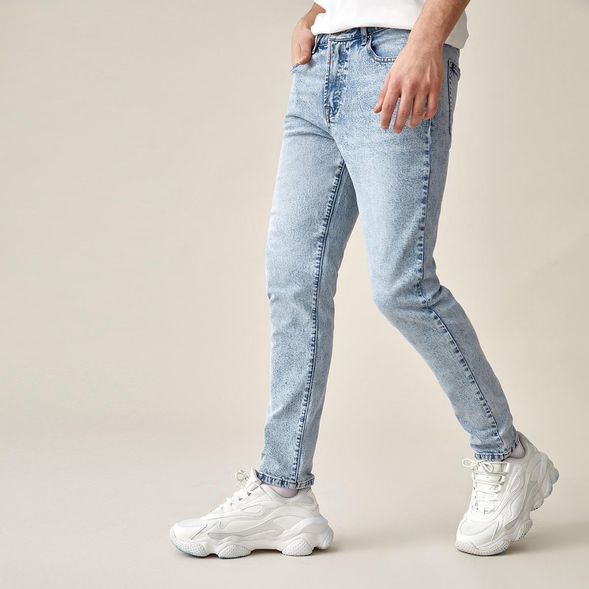 Jeans mit Light Wash