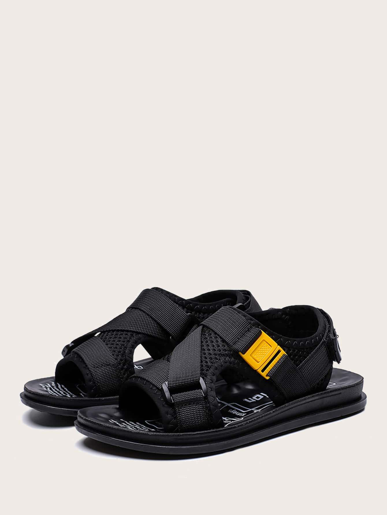 Boys Velcro Strap Design Sandals