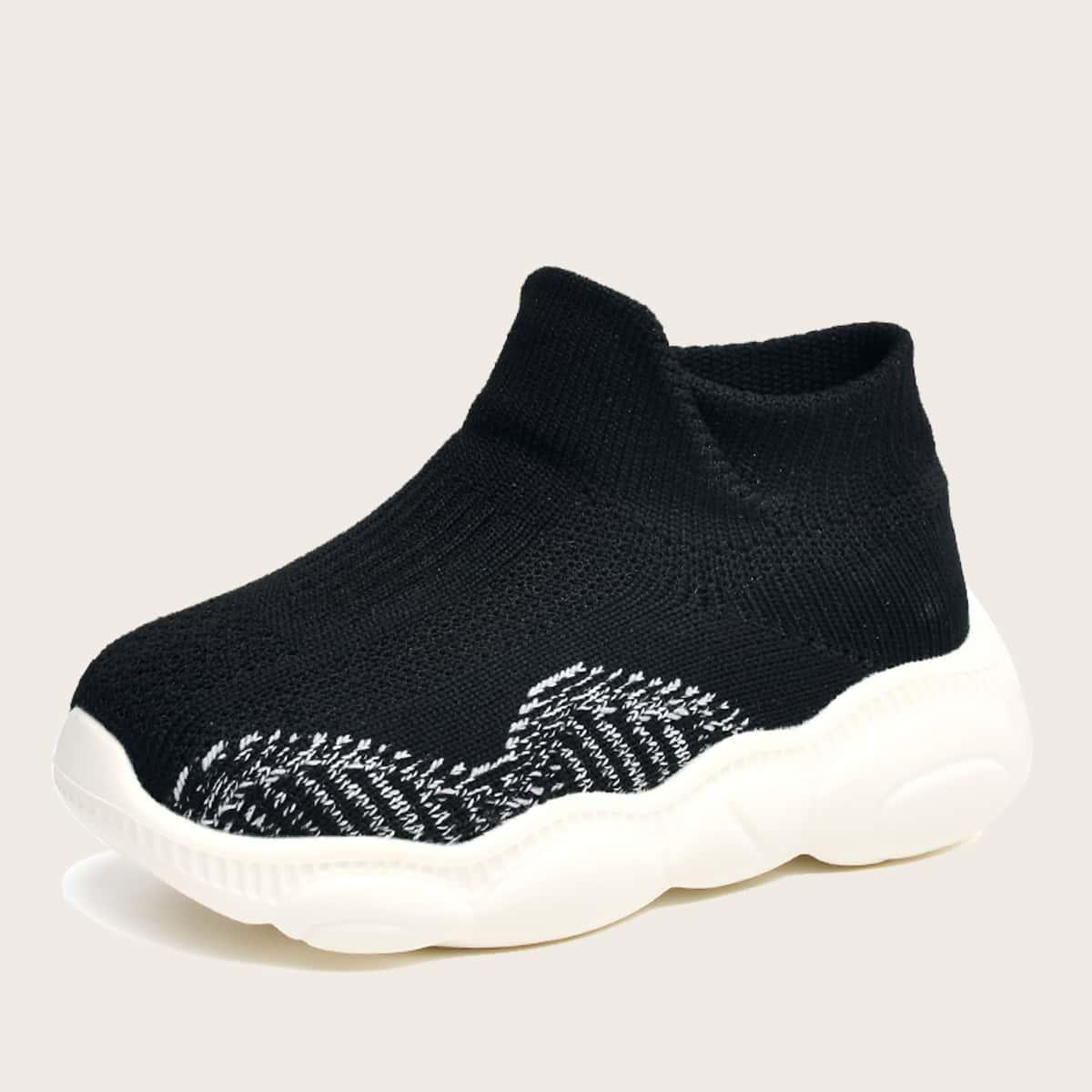 Трикотажные кроссовки для мальчиков от SHEIN