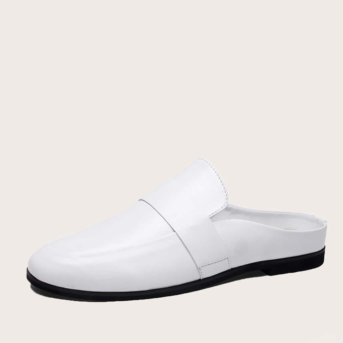 SHEIN Minimalistische loafers voor heren