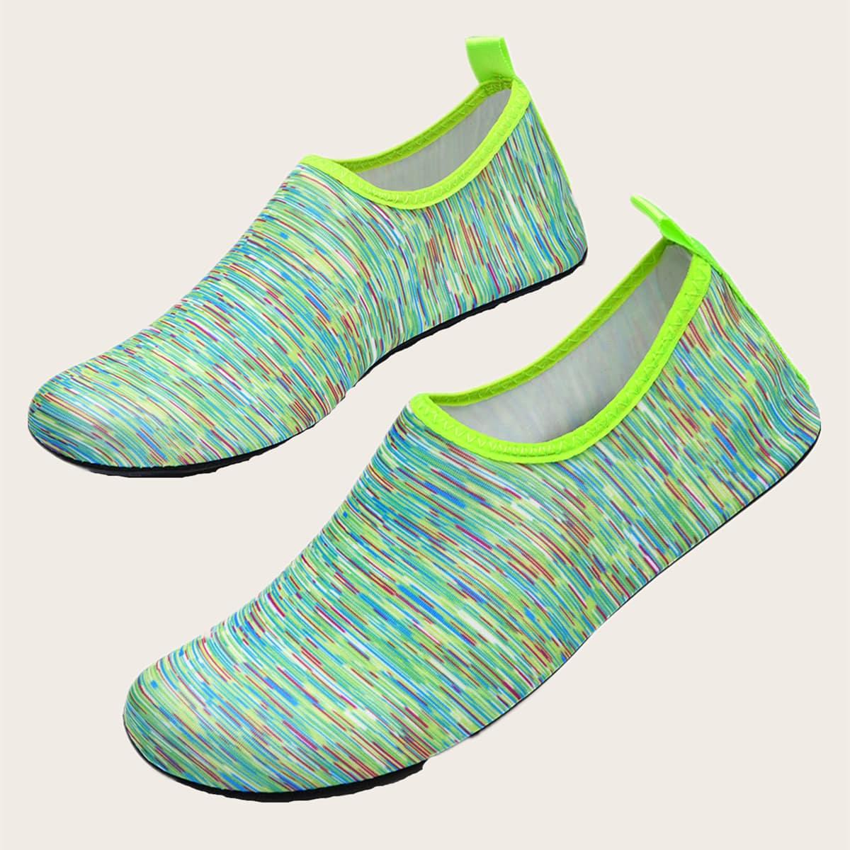 Мужские контрастные водные туфли