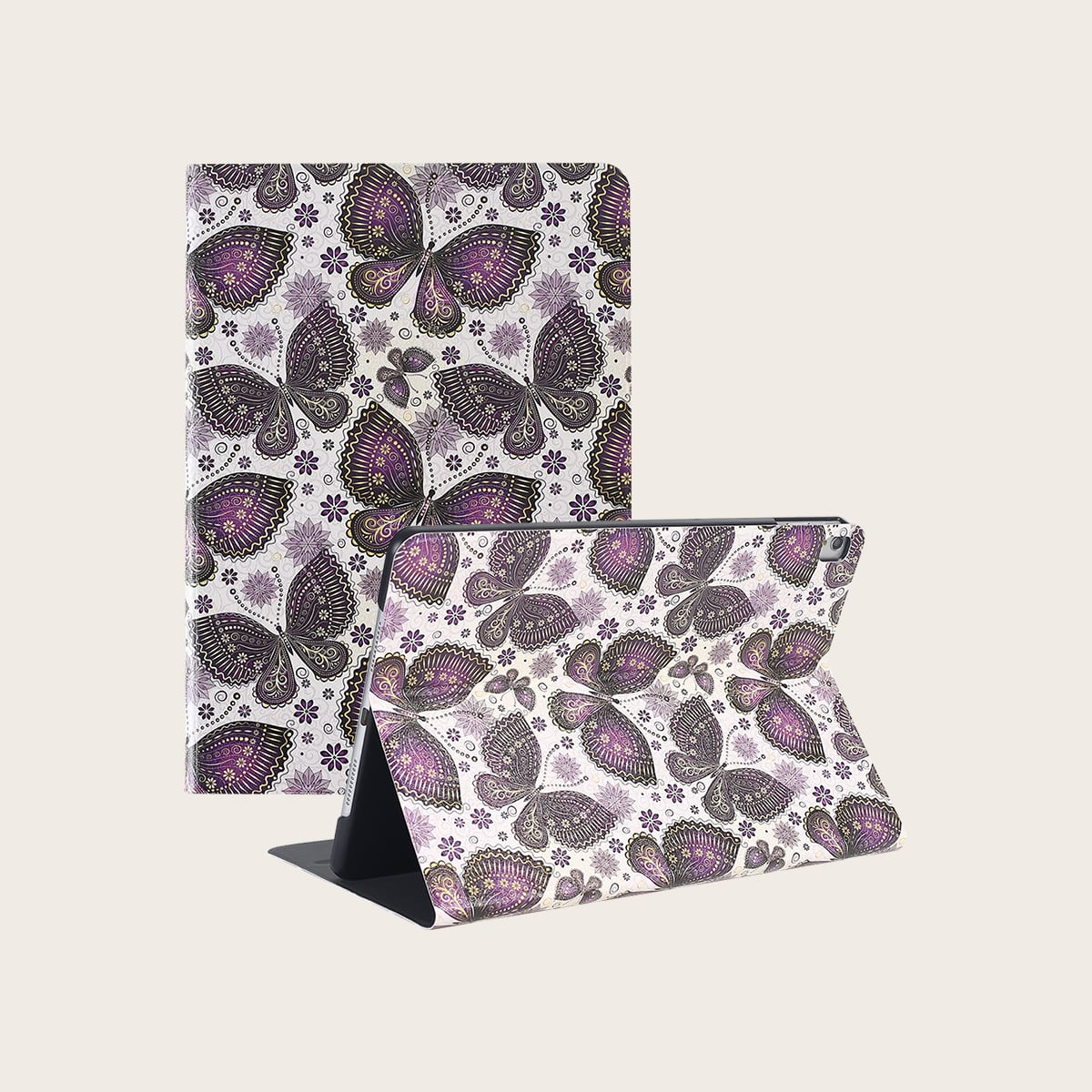 iPad Etui mit Schmetterling Muster