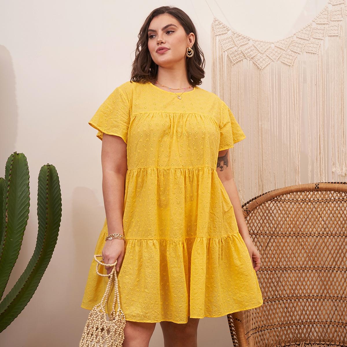 Оригинальное платье размера плюс по цене 1 170