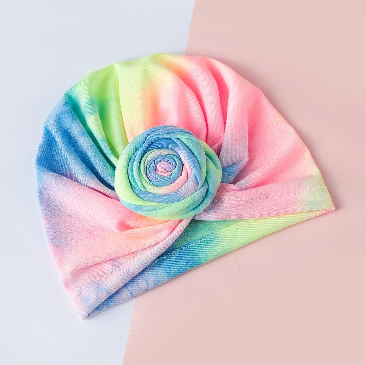 Baby Tie Dye Wrap Hat