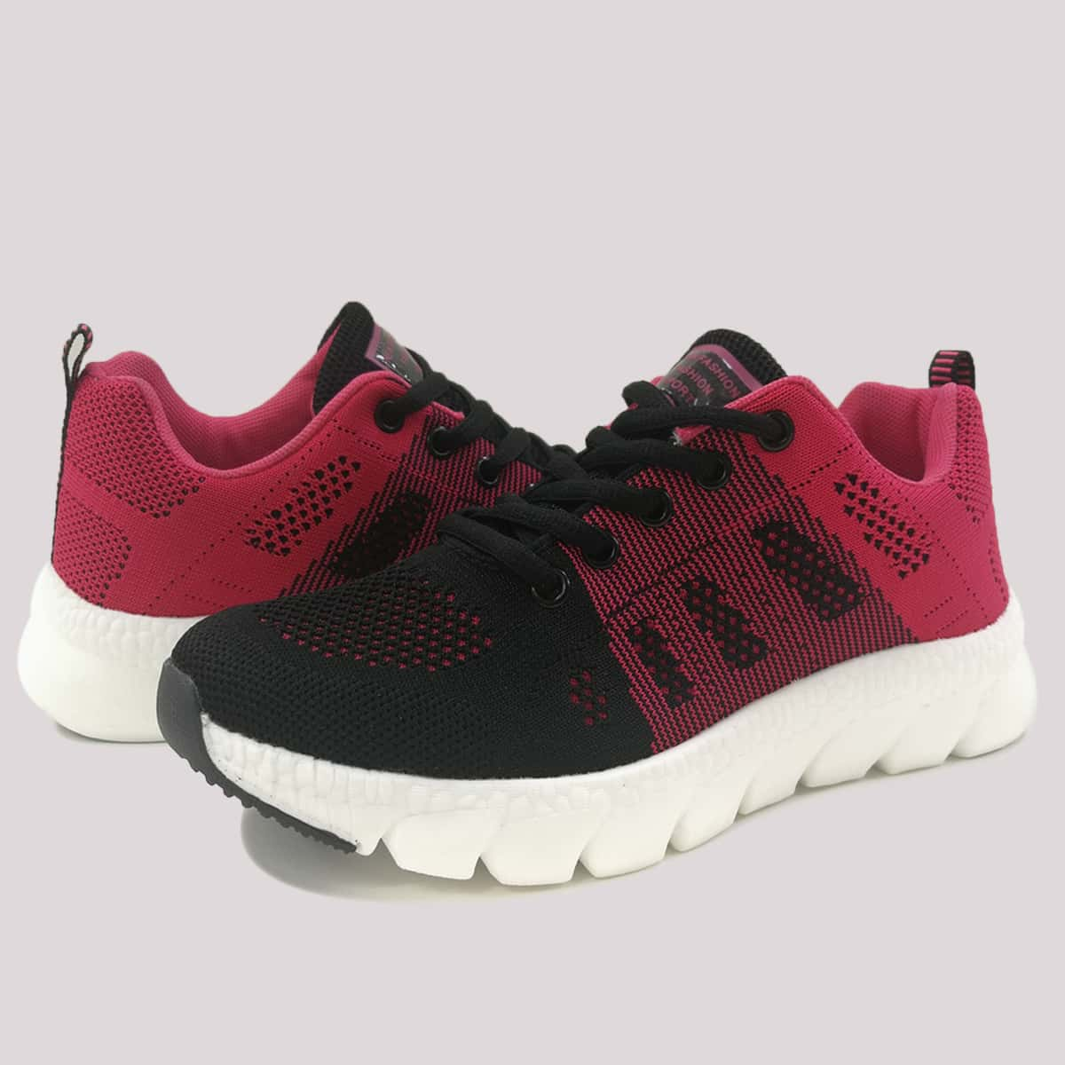 SHEIN Kant Sport Kleurblok Sneaker