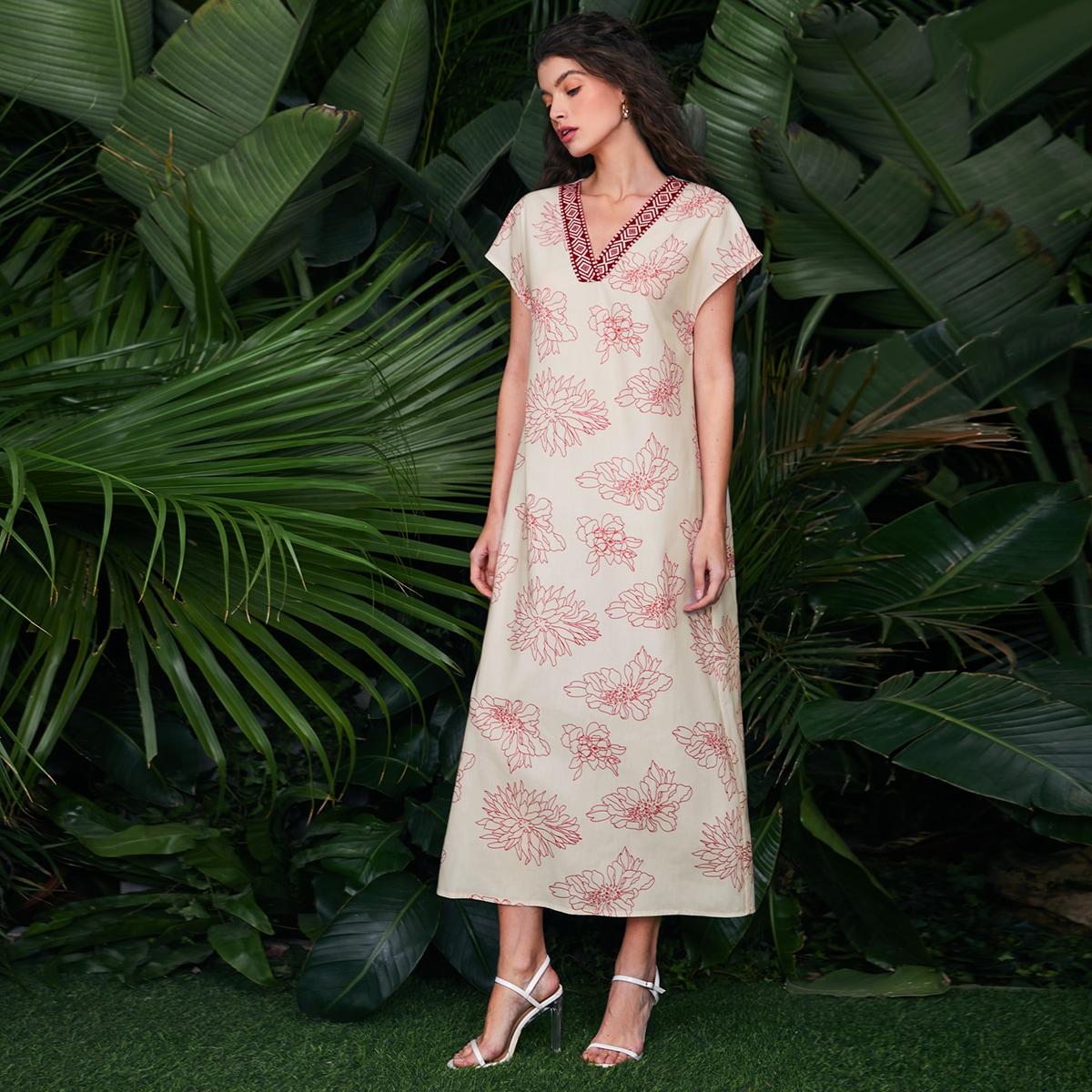 Платье с цветочным принтом по цене 981