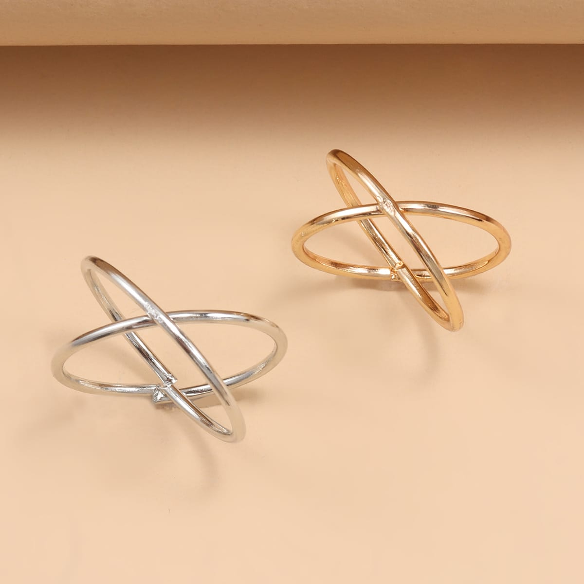 Cross Design Ring, SHEIN  - buy with discount