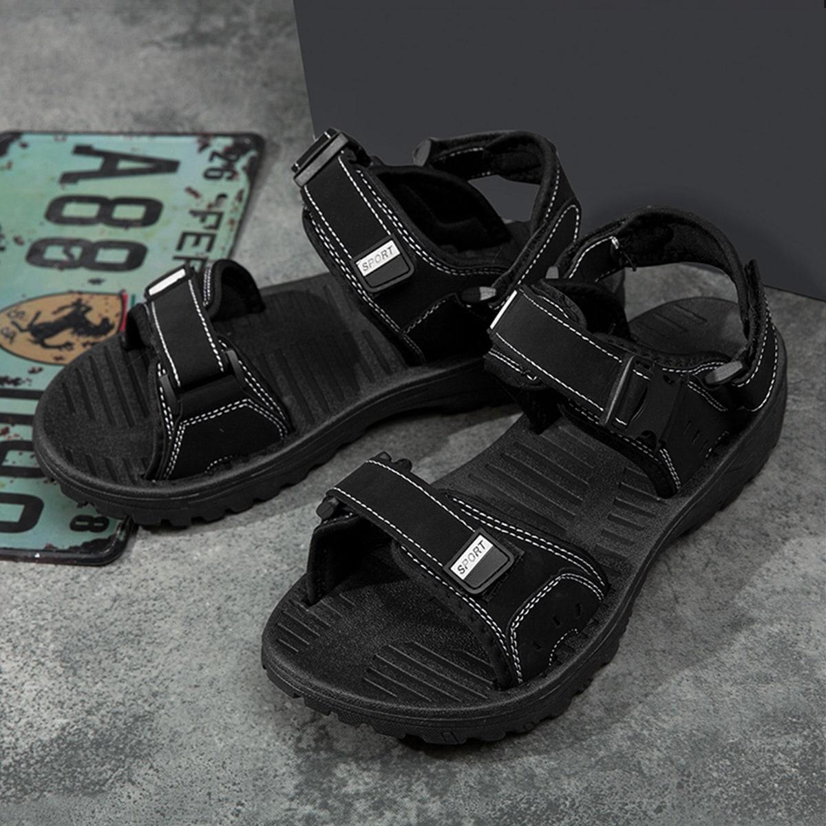 SHEIN Sandalen met klittenband voor heren