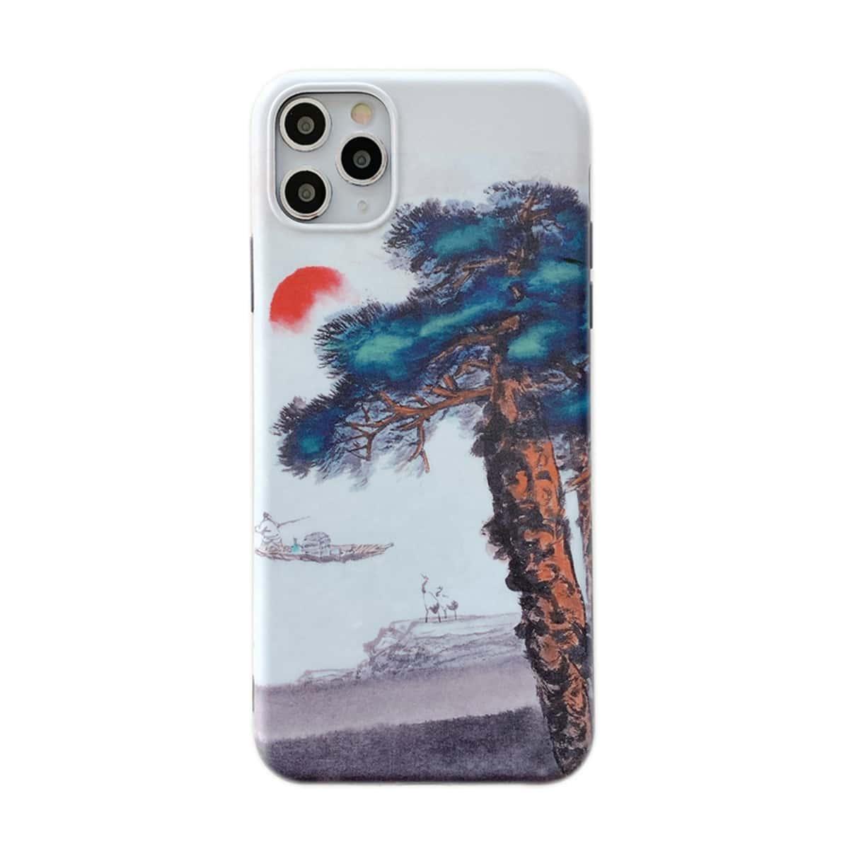 Custodia per iPhone con stampa ad albero
