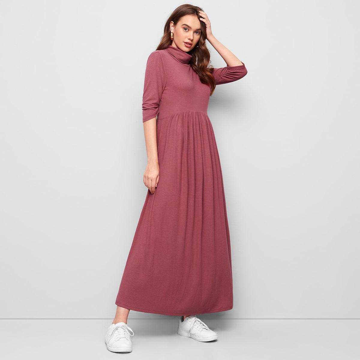 Оригинальное платье со сборкой по цене 959