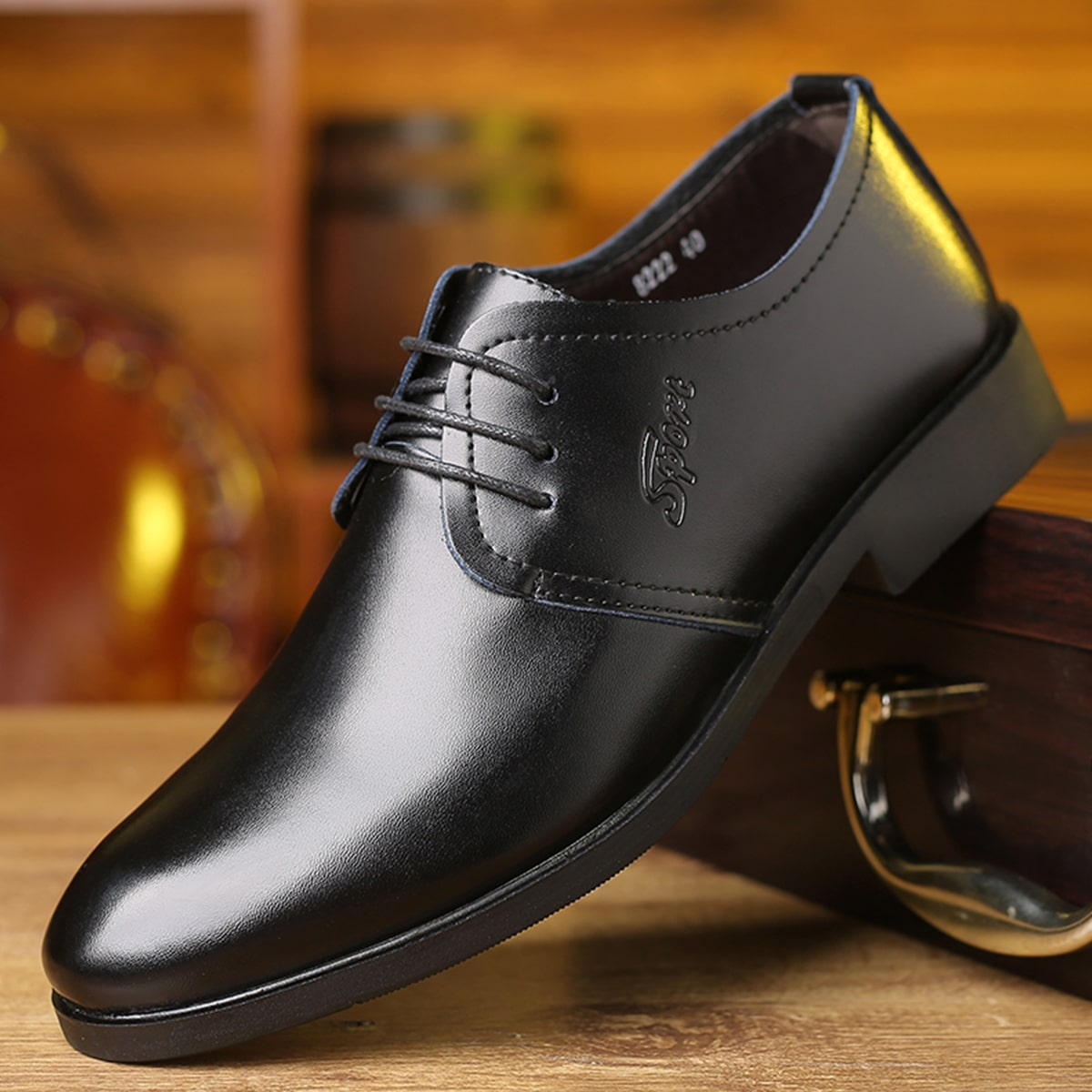 SHEIN Heren schoenen met veters aan de voorkant