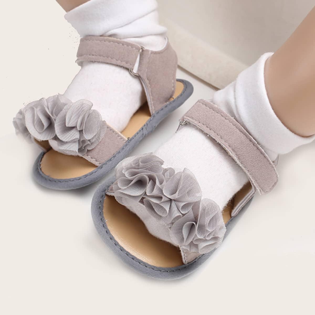 Одноцветный сандалии для малышей