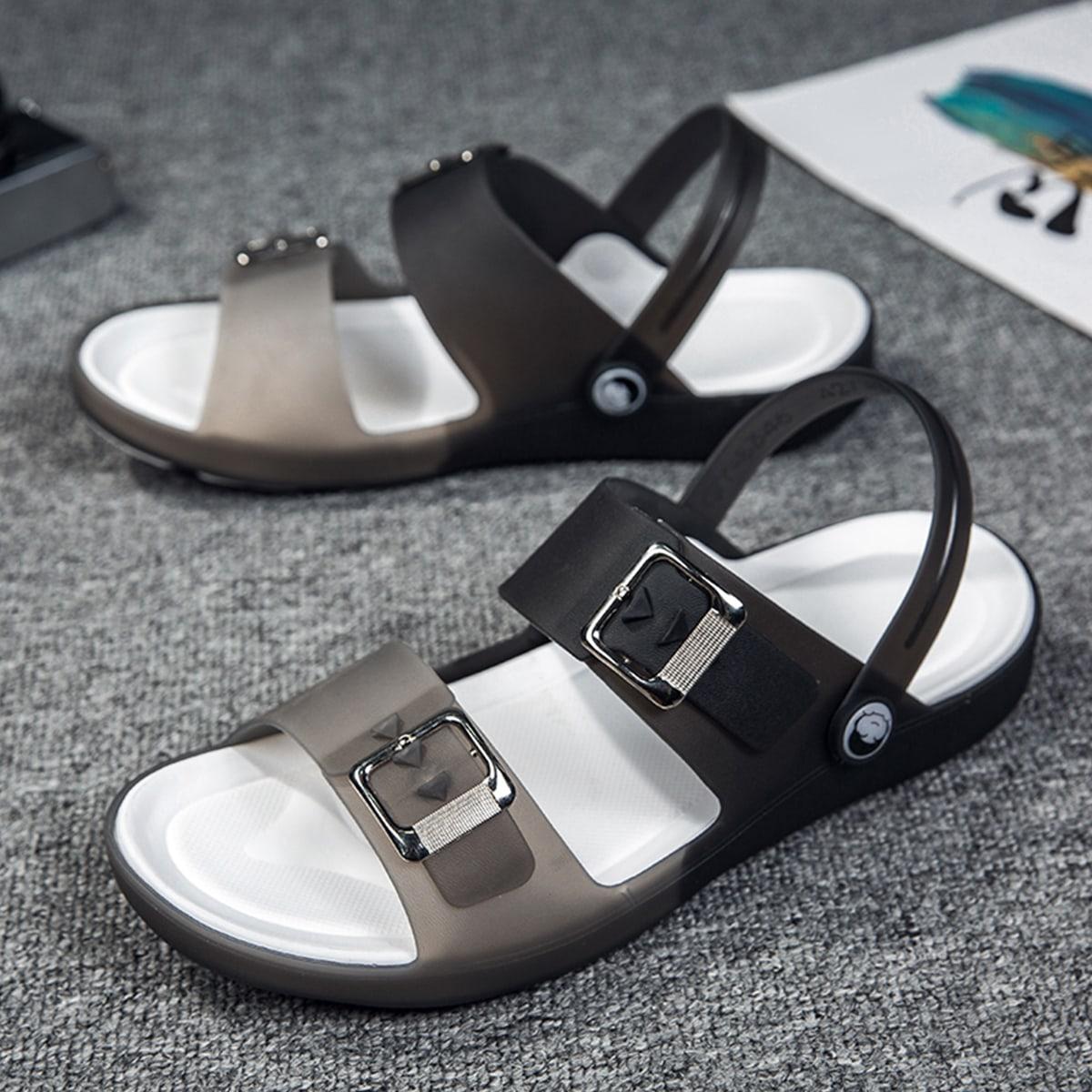 SHEIN Sandalen met gesp voor heren