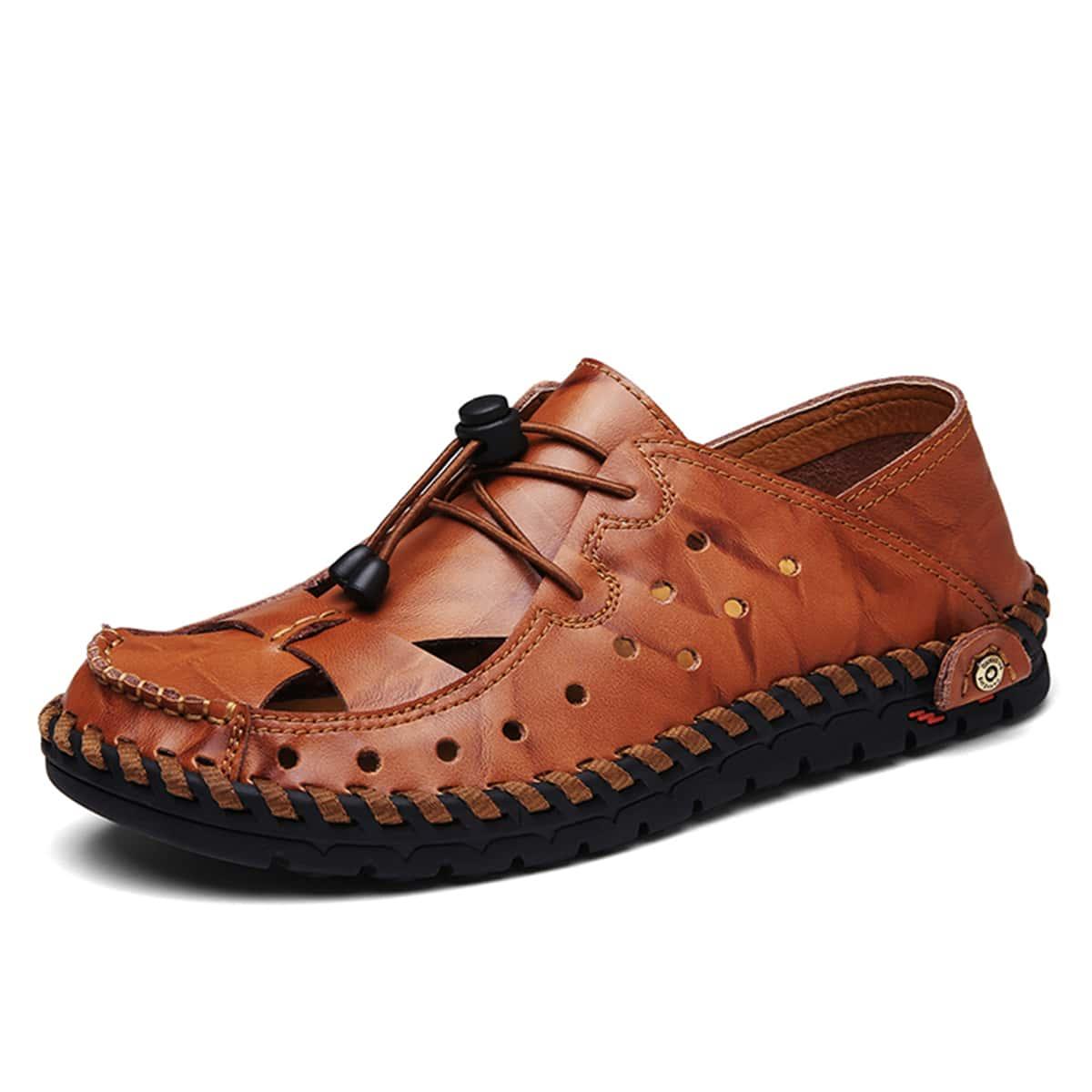 SHEIN Heren sandalen met trekkoord