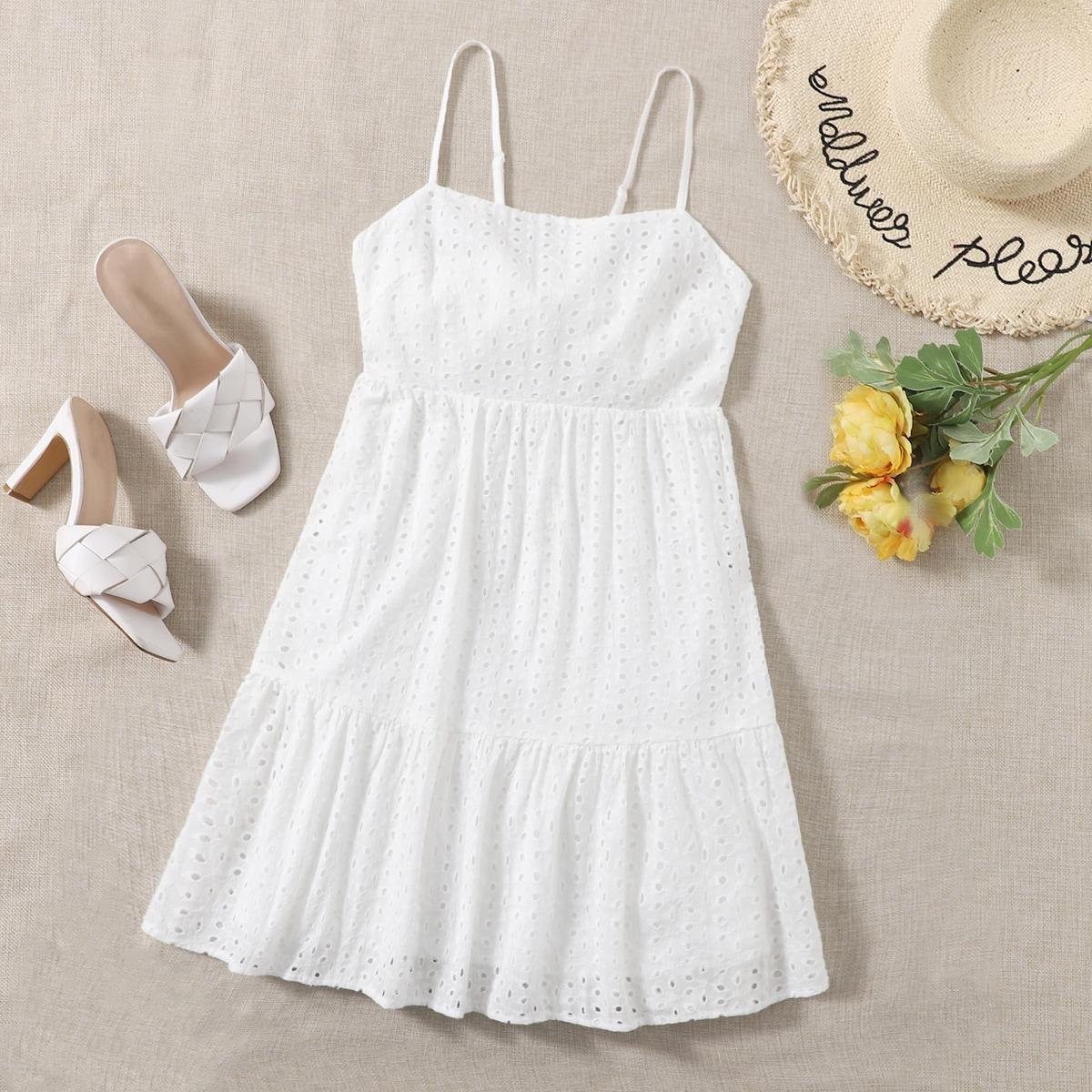 Платье на бретелях SheIn swdress07201225757