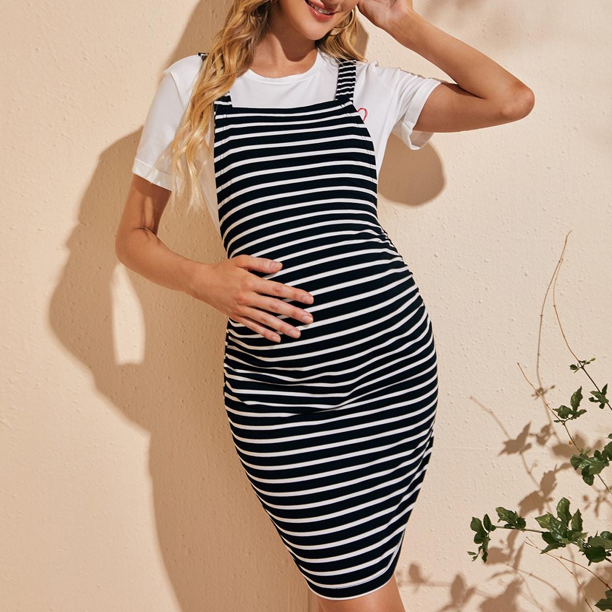 для беременных Сарафаны в полоску