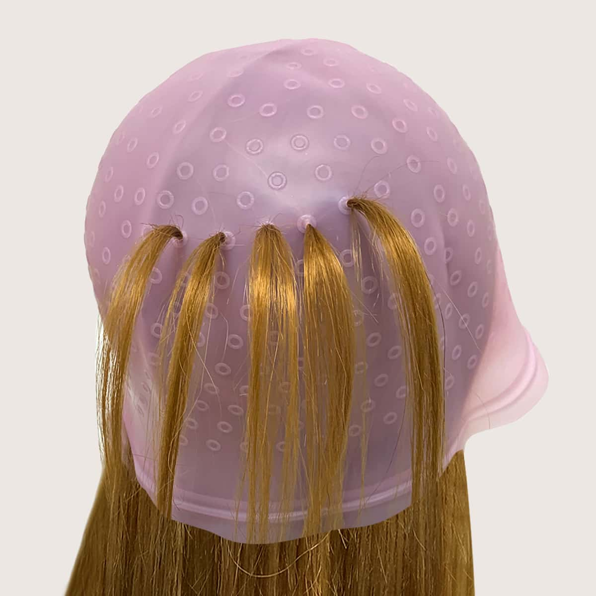 Silicone Hair Dye Cap With Hook