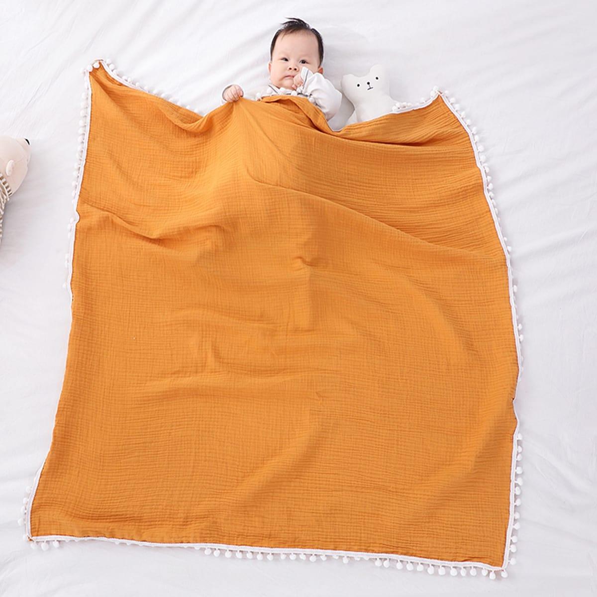 Одноцветный детские одеяла
