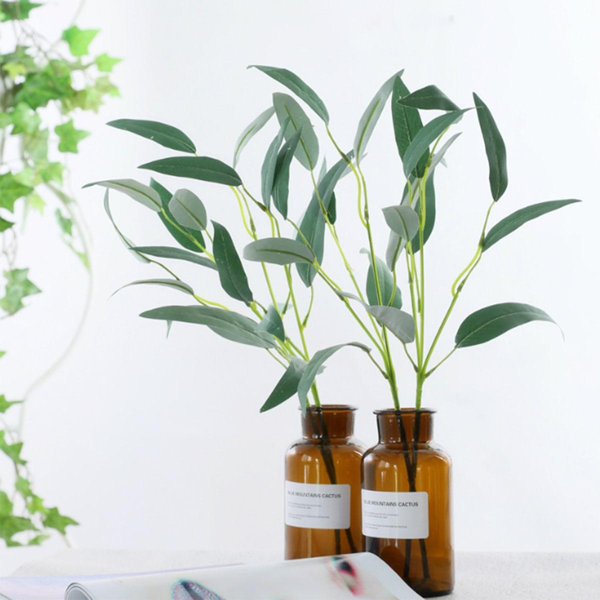 1 Stück künstliche Blatt ohne Vase