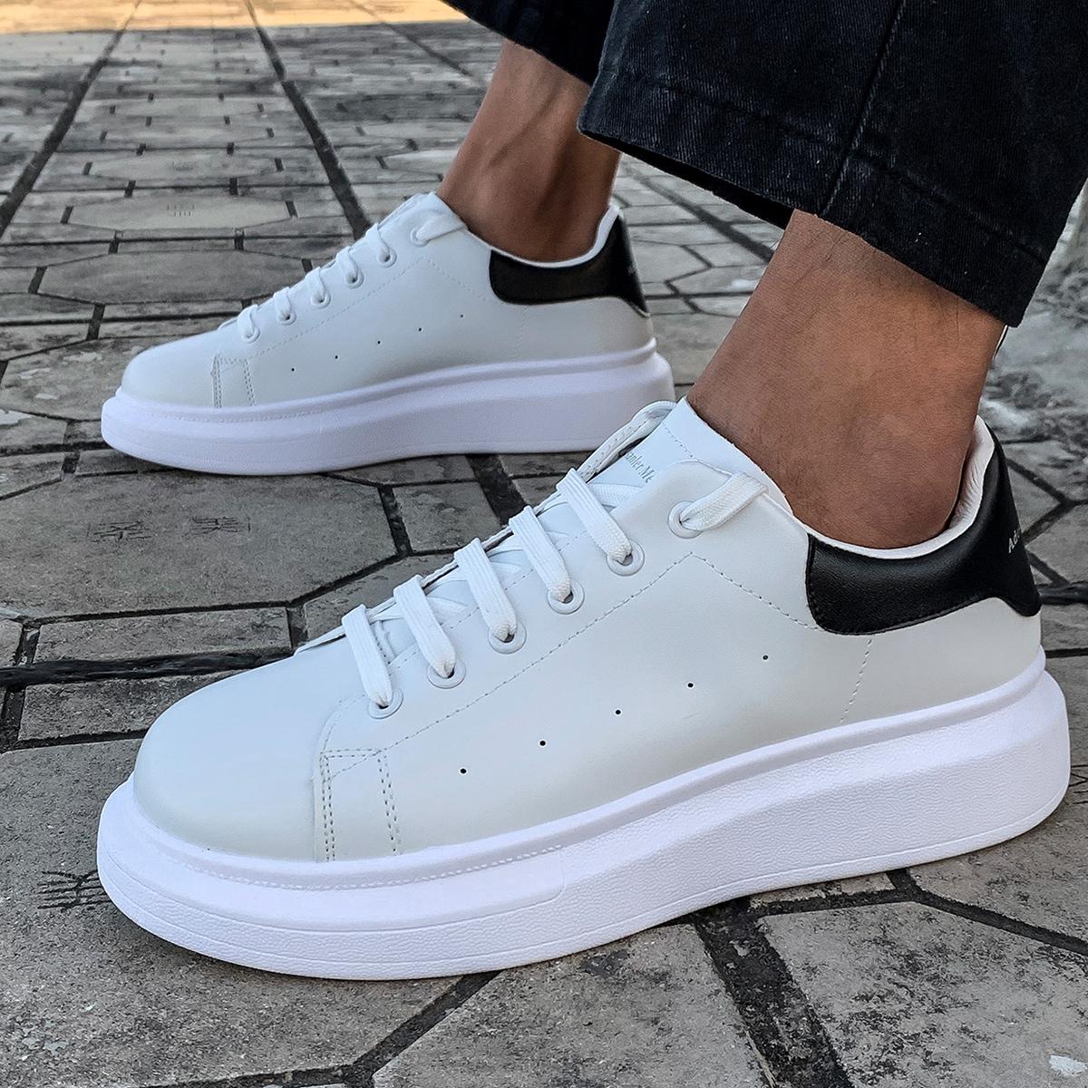 SHEIN Kant Kleurblok Sneaker man