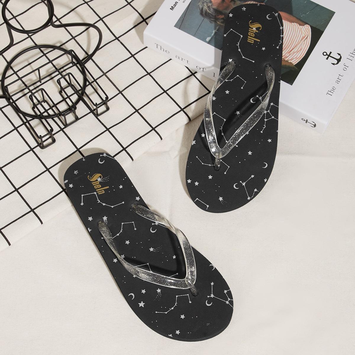 Вьетнамки блестящий SheIn swshoes03201210562