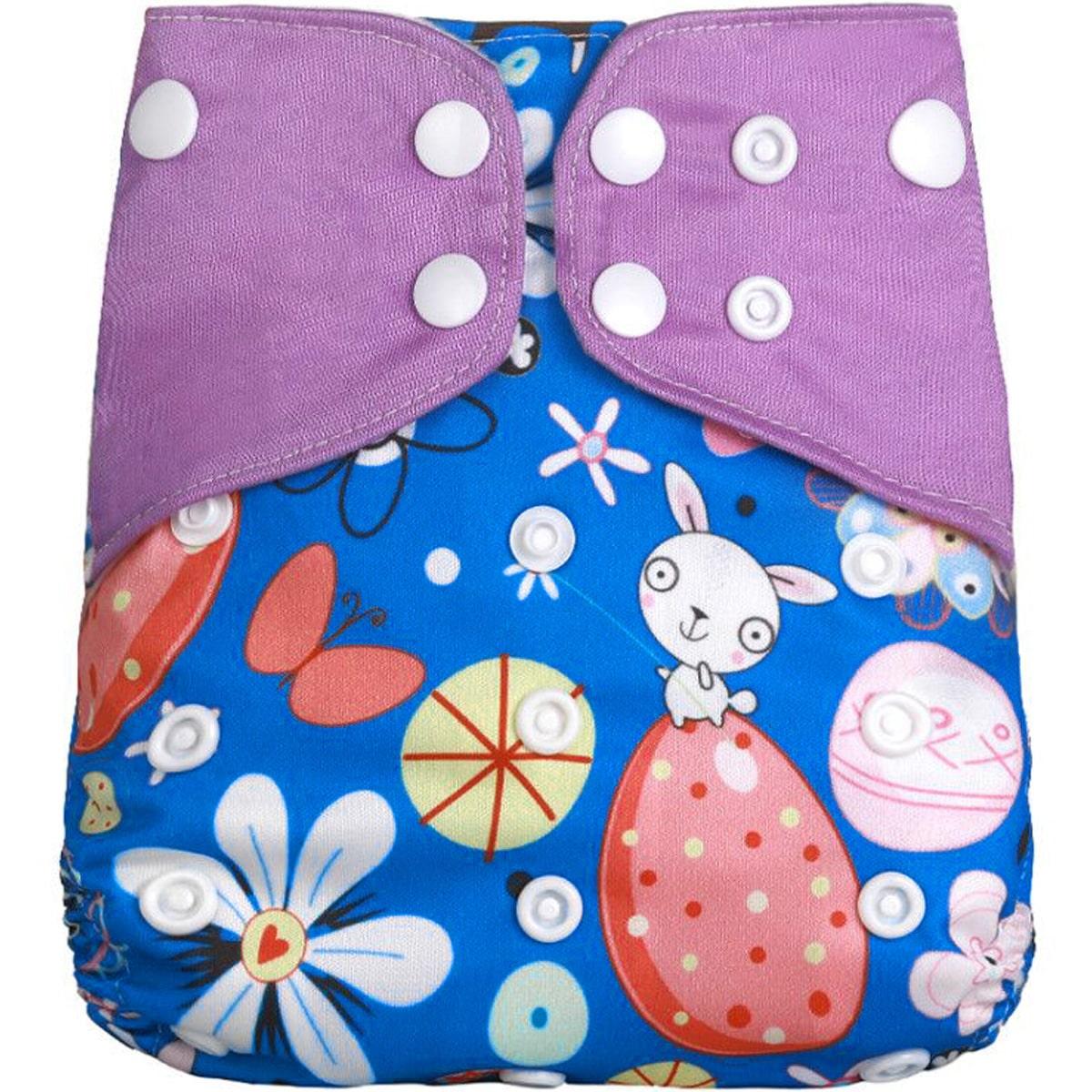 Детские моющиеся подгузники унисекс с мультипликационным рисунком
