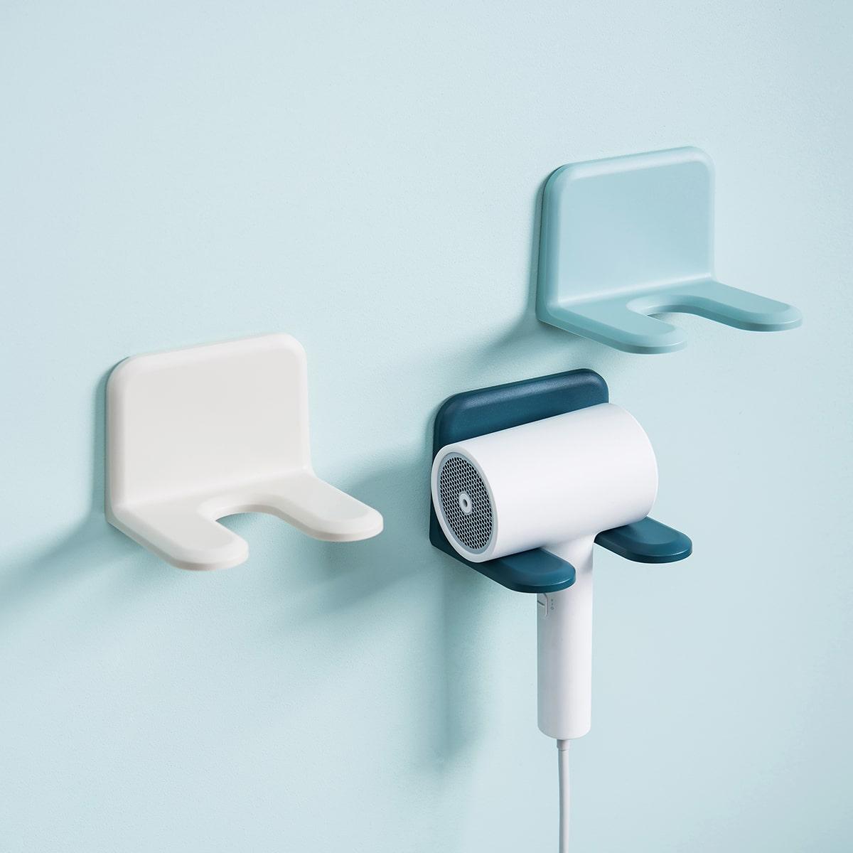 1 pieza soporte de secador de pelo de color al azar
