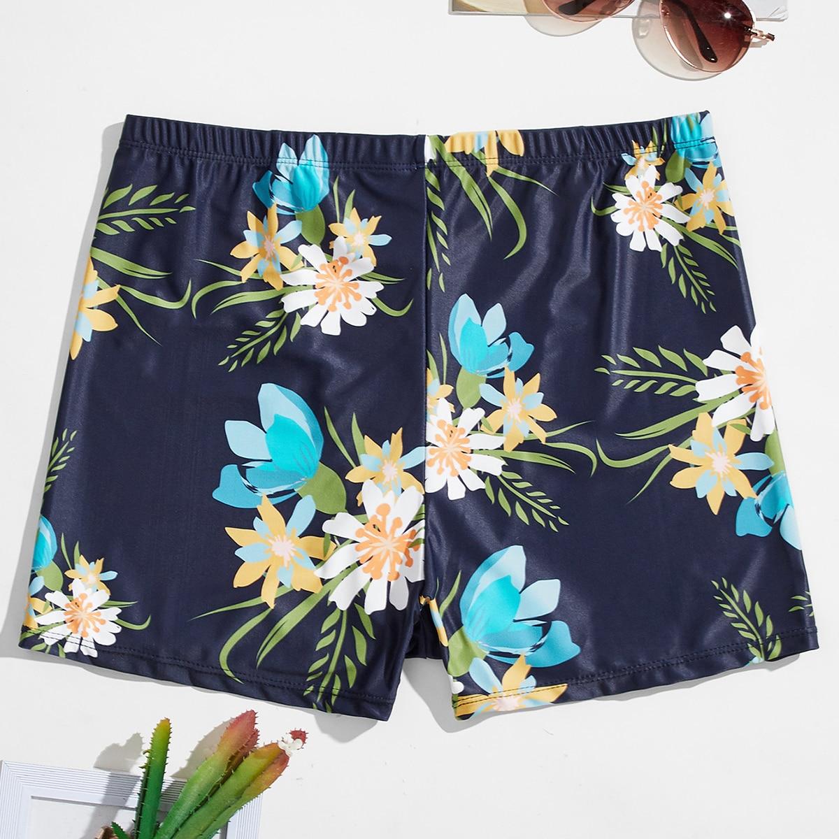 Цветочный отпуск мужские купальники
