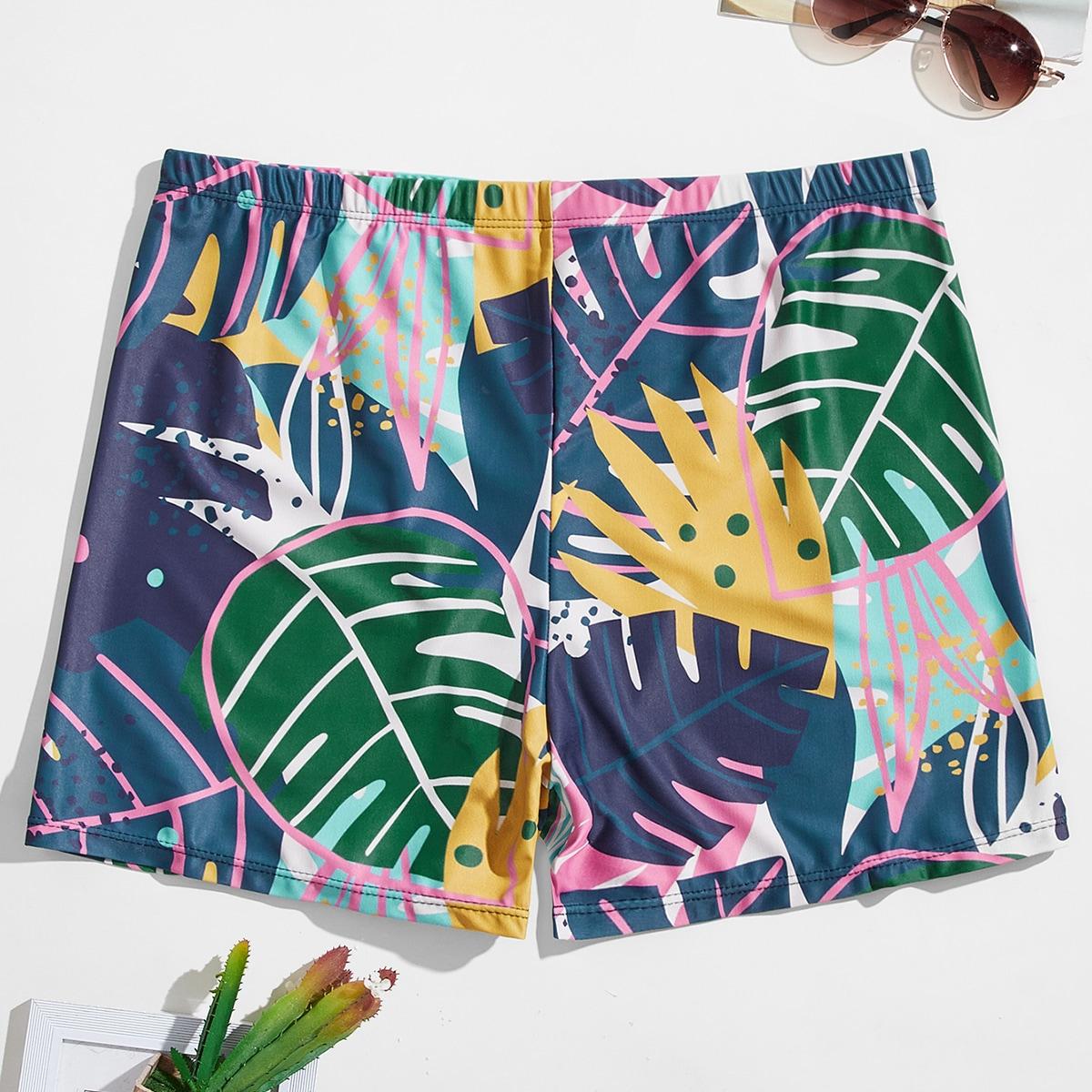 Тропический отпуск мужские купальники