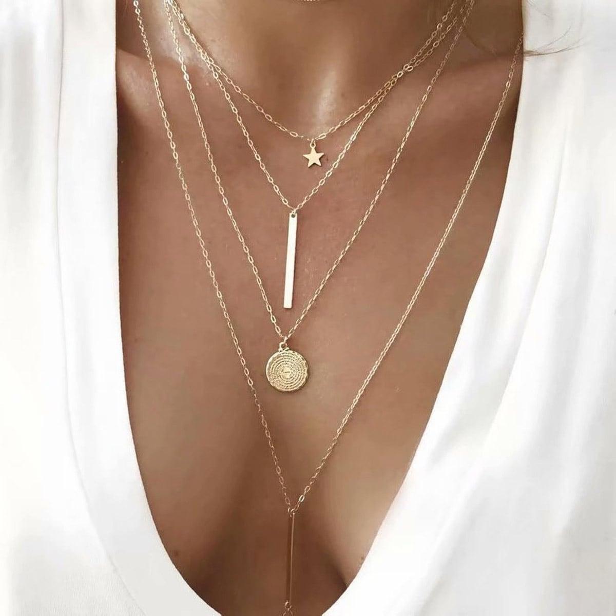Повседневный Ожерелья по цене 90