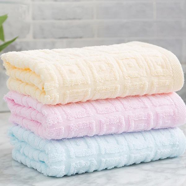 1pc Random Color Absorbent Face Towel, Multicolor
