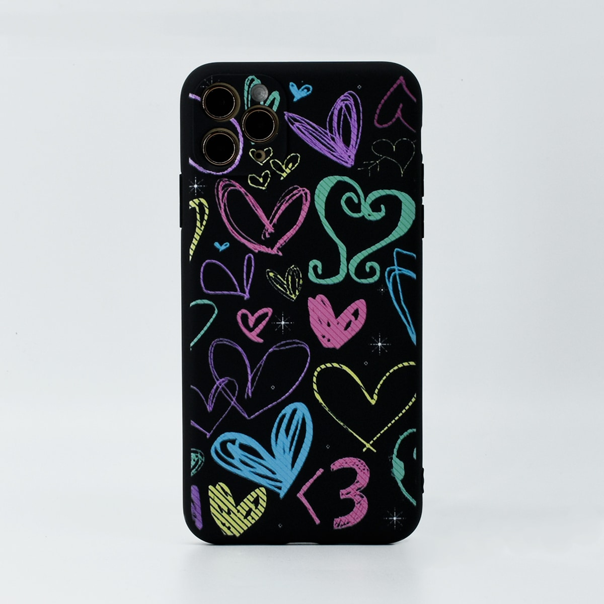 Heart Pattern Phone Case