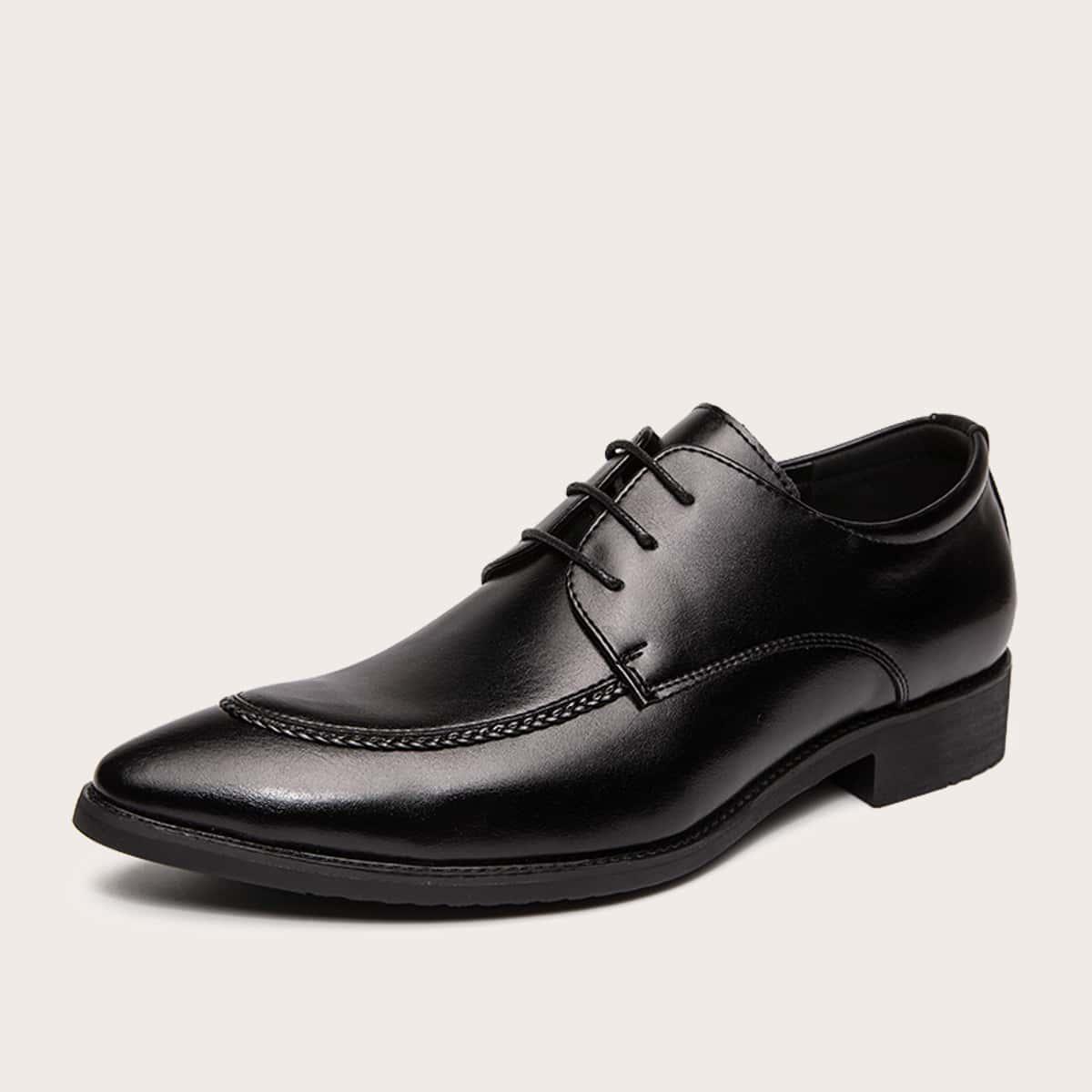 Мужские официальные туфли на шнурках по цене 2 259