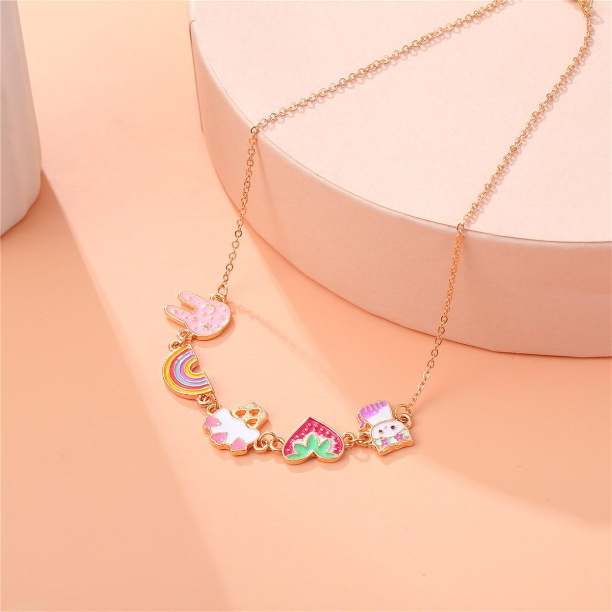 Сердечко Детские ожерелья