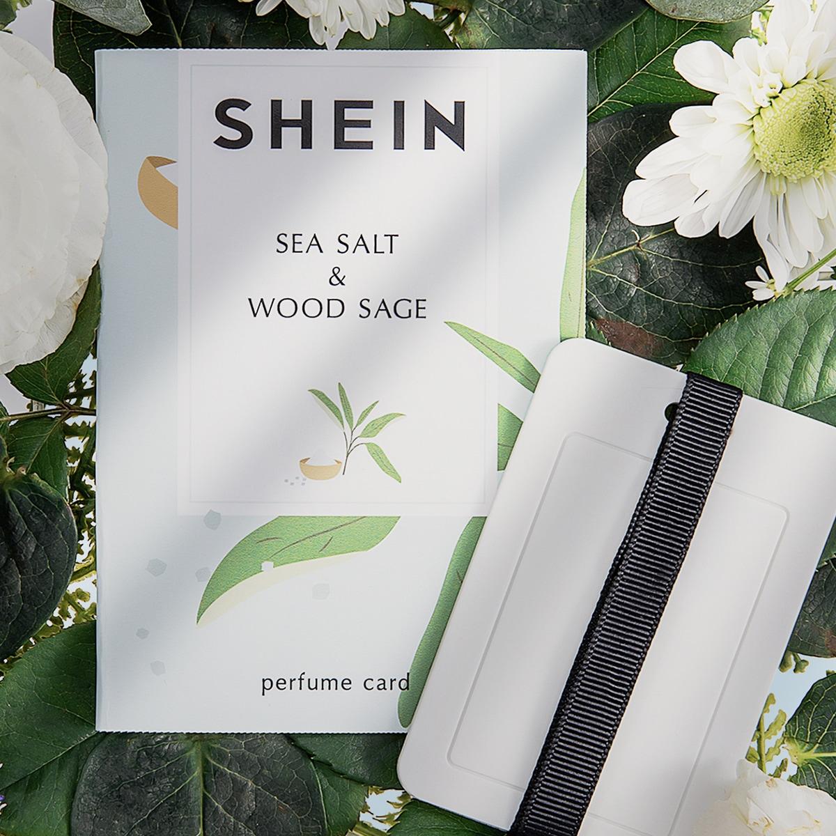 Sea Salt & Wood Sage Perfume Card