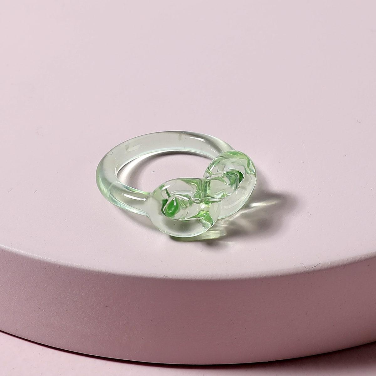 1шт прозрачное акриловое кольцо по цене 110