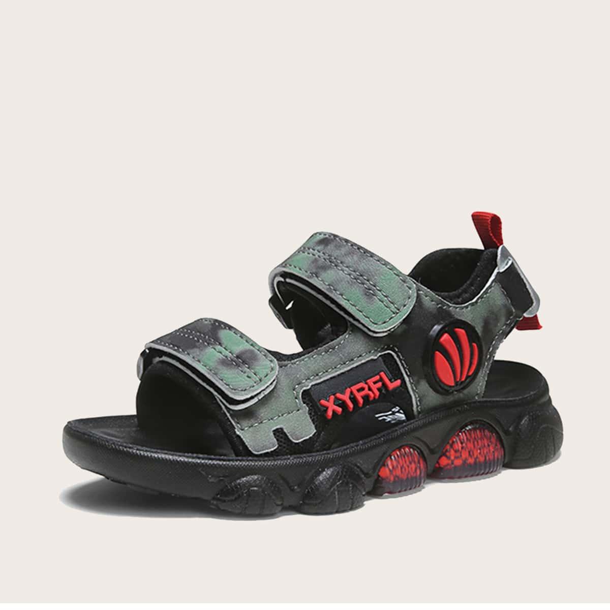 Буква детские сандалии