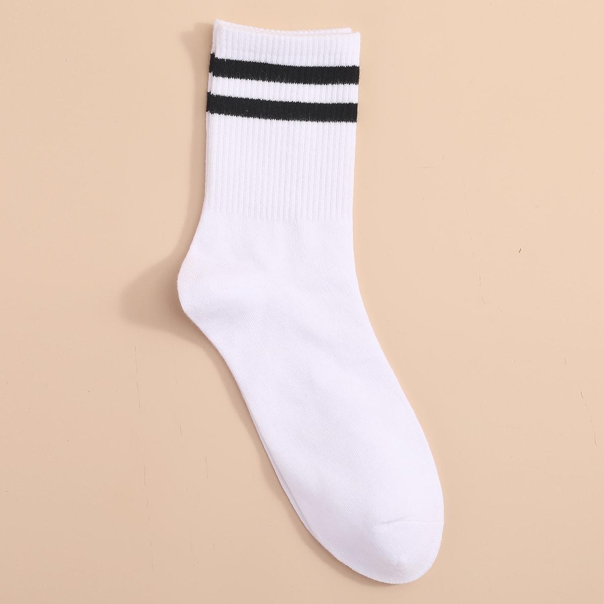 Полосатый Мужские носки по цене 120