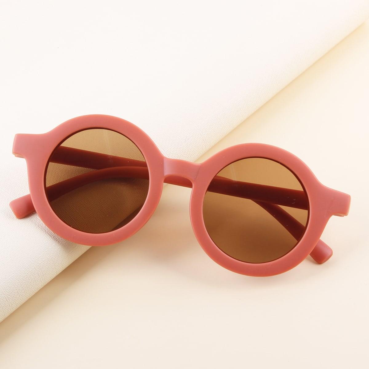 Круглый Детские солнечные очки по цене 400