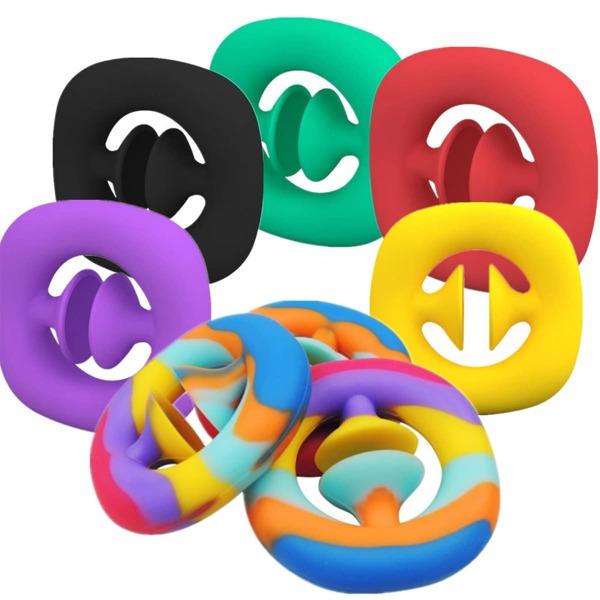 1pc Random Color Snapper Fidget Toy, Multicolor