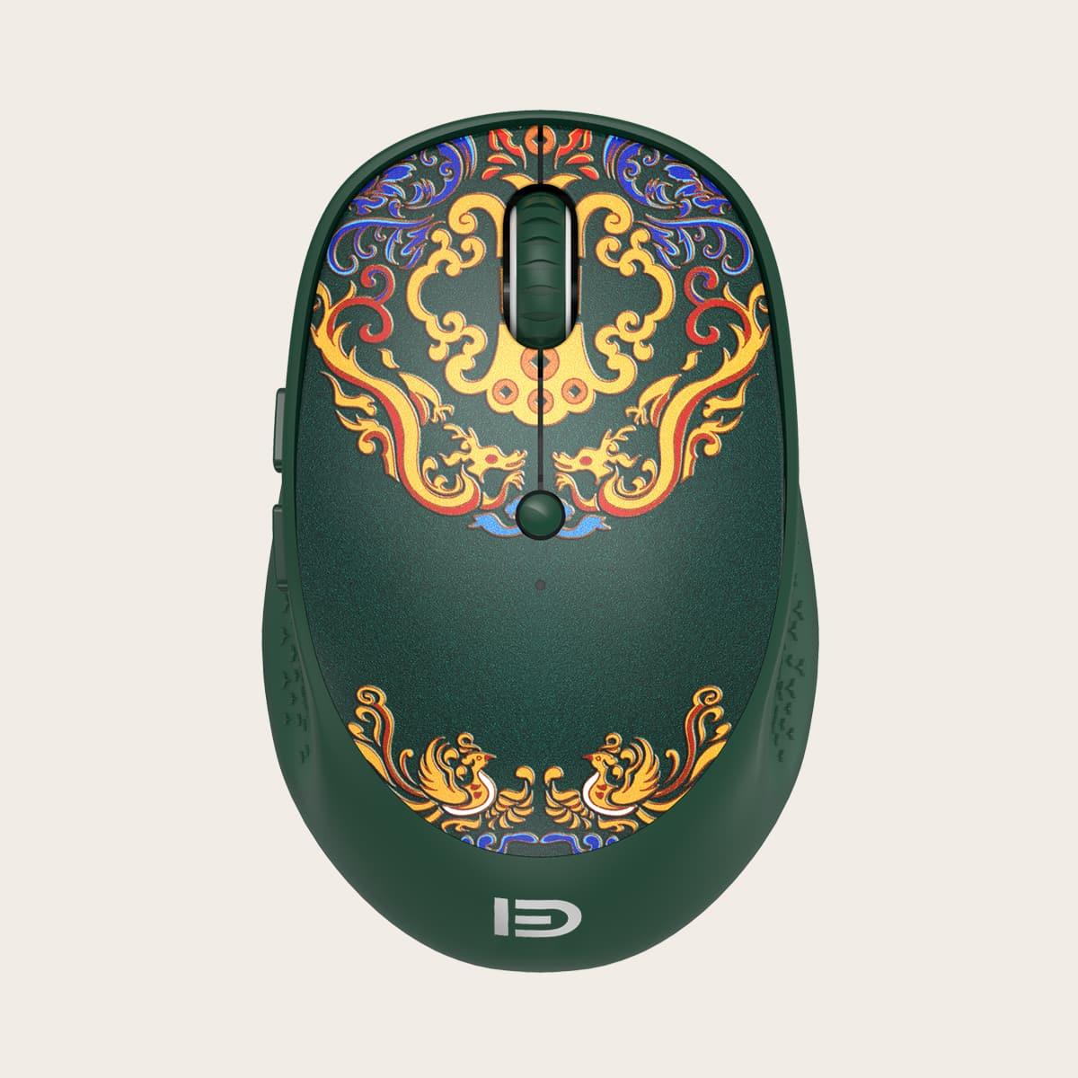 Drahtlose Maus im chinesischen Stil