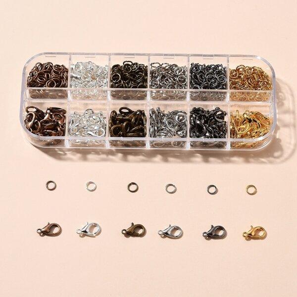 1box DIY Jewelry Accessories, Multicolor