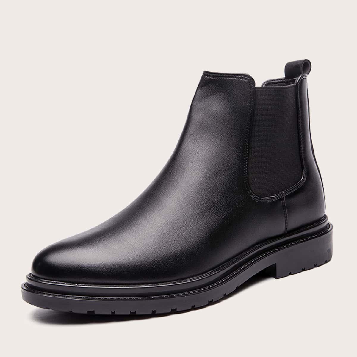 Мужские минималистские ботинки челси