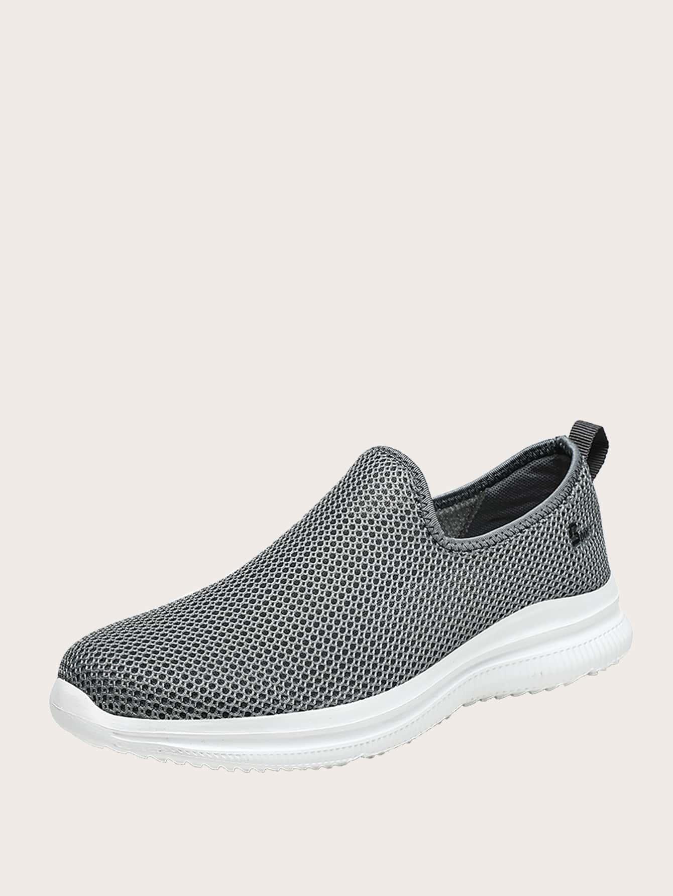 Men Slip On Breathable Running Shoes