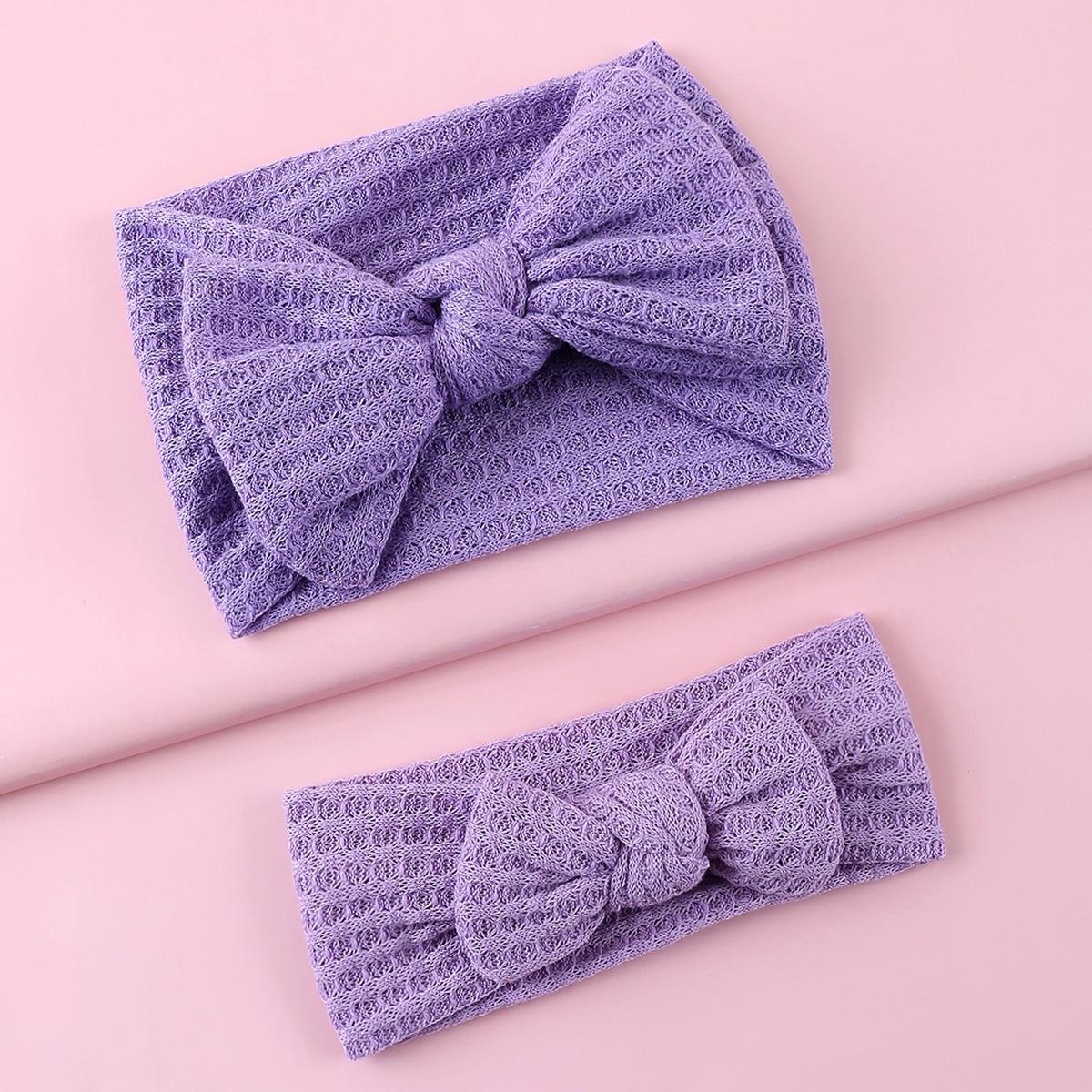 2 Stücke Mädchen Haarband mit Schleife Dekor