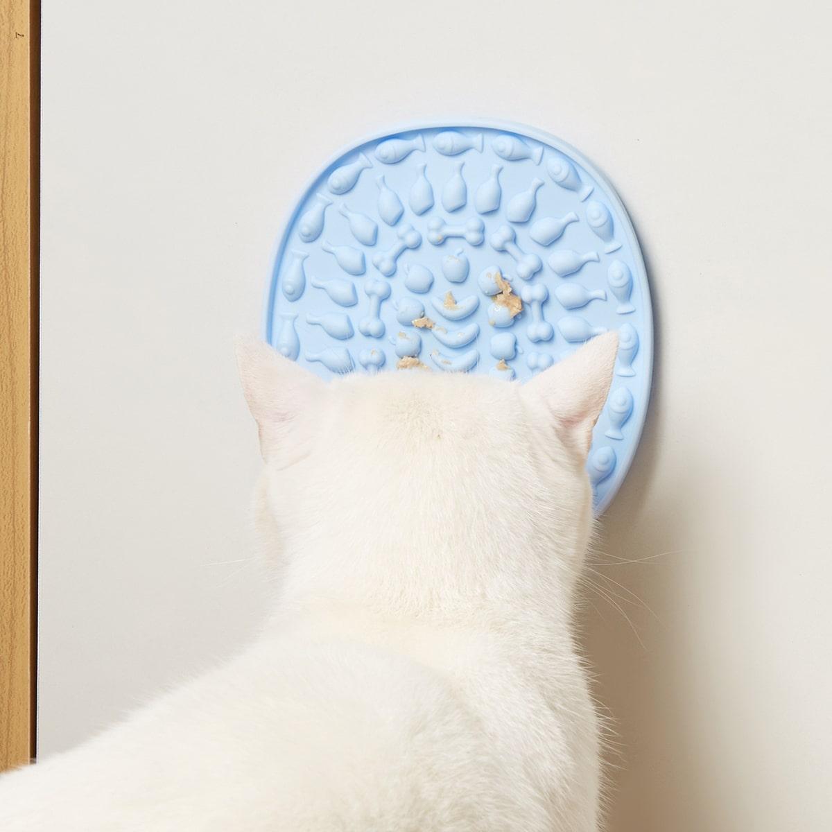 1 Stück Ovales Leck-Pad für Haustier