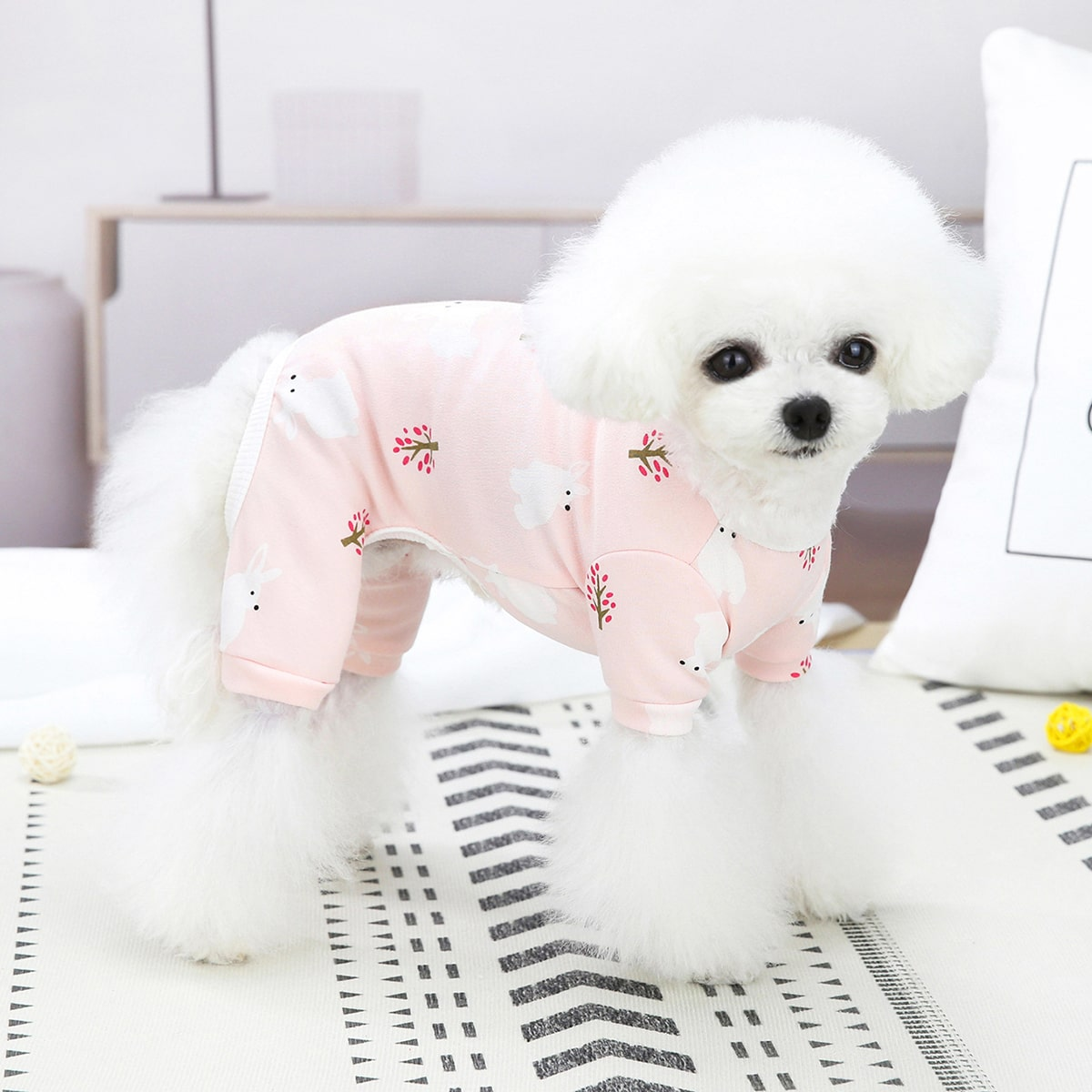 Pyjama mit Hase Muster für Haustiere